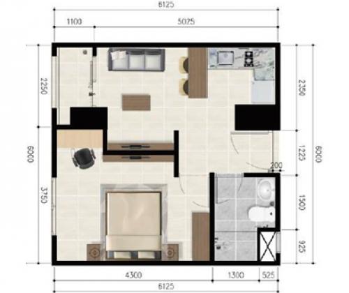 1 Bedroom Executive Corner